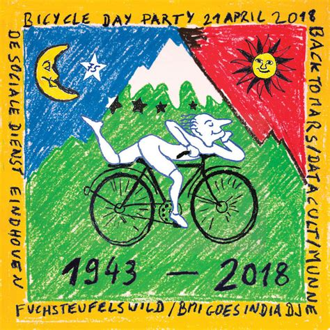 Bicycle Day Party · 21 Apr 2018 · Eindhoven (Netherlands