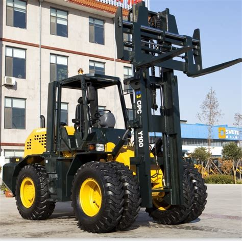 China 10 Ton off Road Forklift (XCPCY100) - China off Road