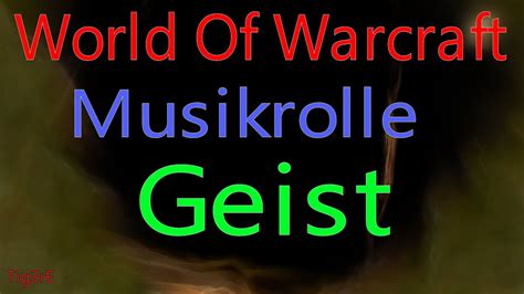 WOW - Musikrolle: Geist / Music Roll: Ghost - YouTube