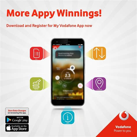Download and register for My Vodafone Ghana app now
