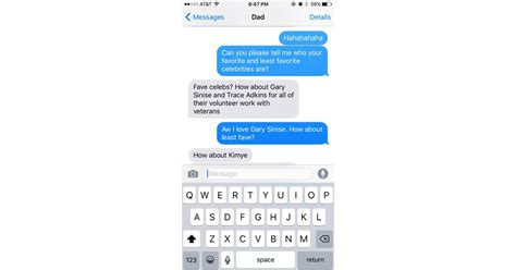 This Dad Who Is Hip With the Celebrity Couple Nicknames