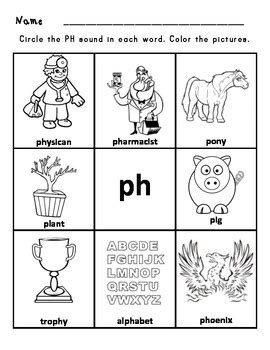31 best images about Sh worksheets on Pinterest