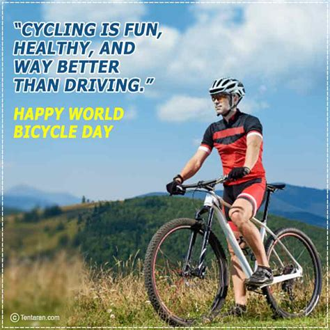 Happy world bicycle day quotes images, wishes, theme