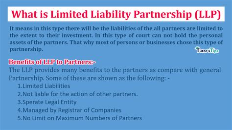 What is Limited Liability Partnership (LLP) - TutorsTips