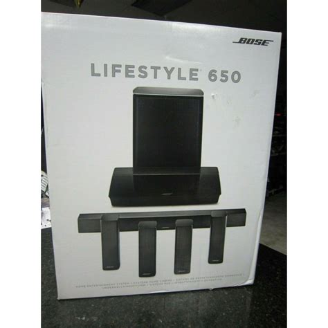 Bose Lifestyle 650 – Buy now from 10Kused