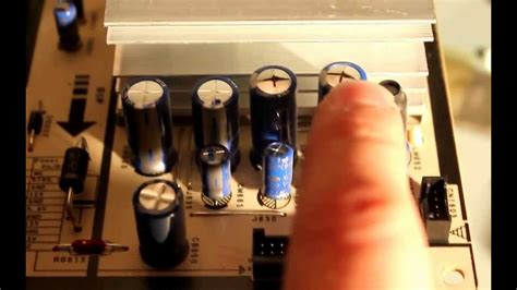 Fixing the Blown Capacitor in Samsung TV Yourself - YouTube