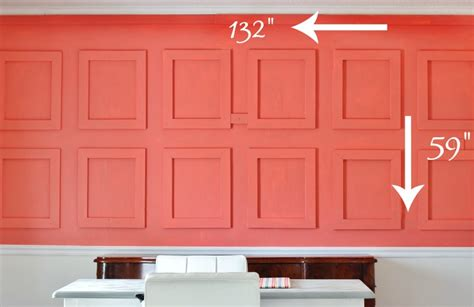How to Build a Raised Paneled Wall   Thistlewood Farms
