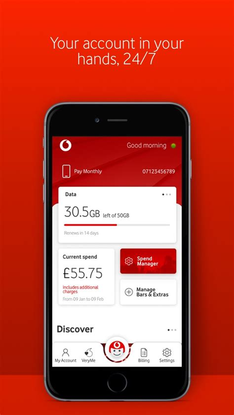 My Vodafone App Ranking and Store Data | App Annie