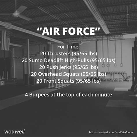 """""""Air Force"""" WOD 
