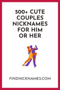 500+ Cute Couple Nicknames For Him or Her | Cute couple