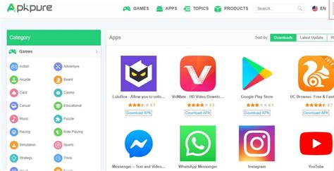 Best sites to download free apk files for Android Apps
