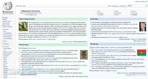Wikipedia - Use one of the most complete encyclopedias