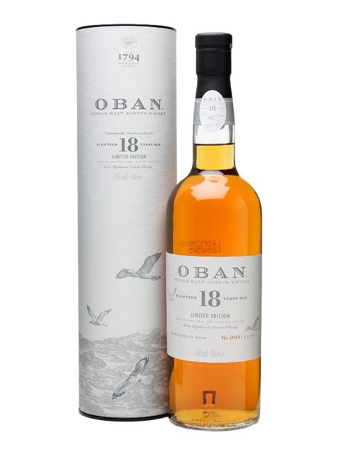 Oban 18 Year Old Limited Edition - Bot