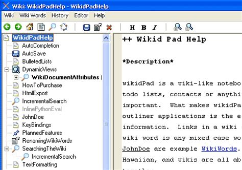 5 Best Free Personal Wiki Software